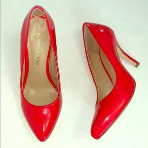 Arturo Chiang Patent Leather Heels